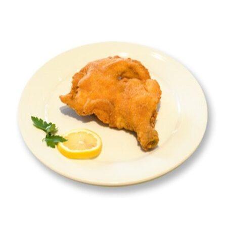 Gebackene Hühnerkeule