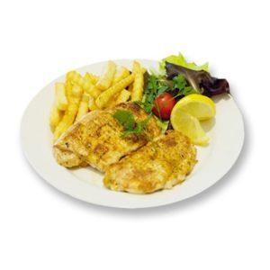Hühnerfilet vom Grill