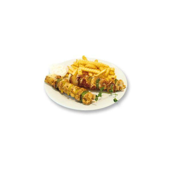 Hühnerspiess vom Grill(2 Stück)