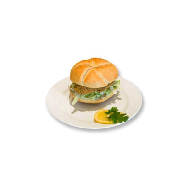 Faschierte Laibchen Semmel mit Käse