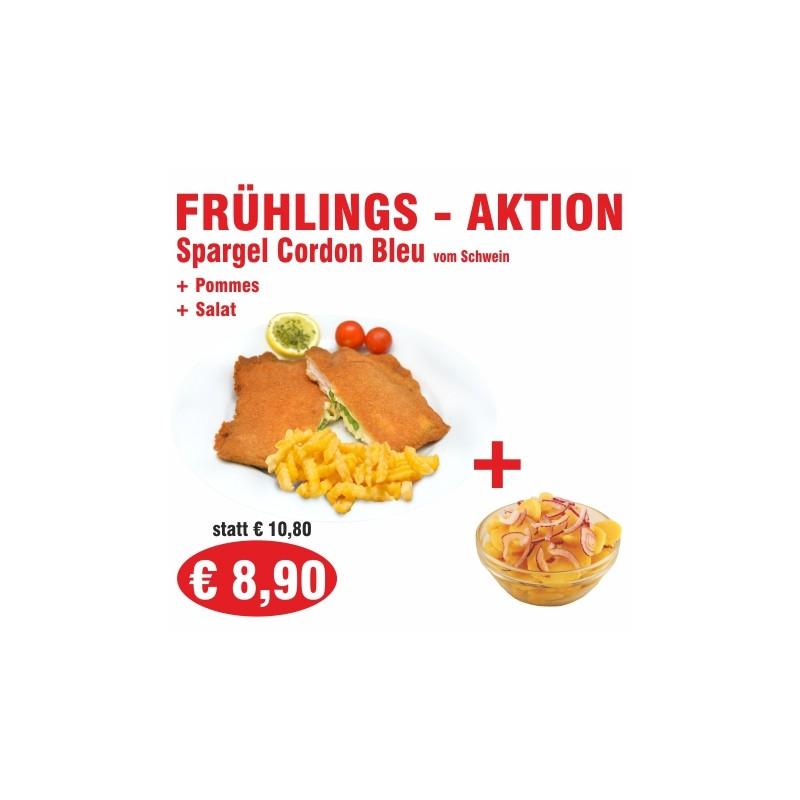 Frühlingsaktion - Spargel Cordon Bleu (Schwein)